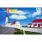 Encore 500pc. Puzzle-Pointe-Au-Pere Lighthouse, Quebec
