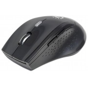 Mouse Ottico Wireless Curve 1600dpi, Nero