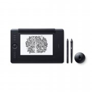 Wacom Intuos Pro Pen and Touch Medium Paper - професионален клас графичен таблет за рисуване (черен)