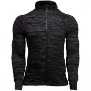 Gorilla Wear Keno Zipped Hoodie - Black/Gray - 3XL