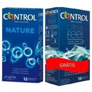 Control Nature Adapta Preservativos c/ Oferta Control Ultra Feel Preservativos 12+10
