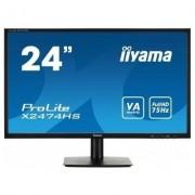 IIYAMA 24'' X2474HS-B1 VA,HDMI,DP,SPEAKERS