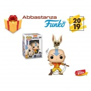 Aang With Momo Funko Pop No 534 De Avatar Nickelodeon Anime