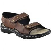 Elvace Brown Brio sandal Men Shoes-4008