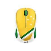 Logitech Fan Collection M238 Mouse - Radio Frequency - USB - Optical - 3 Button(s)