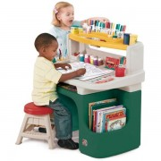Măsuţă birou pentru copii Art Master Activity Desk - Verde
