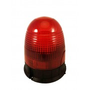 Girofar rosu LED cu prindere in 3 puncte 12-24V