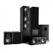 Numan Reference 851 Système Home Cinema 5.1 noir avec protection noire