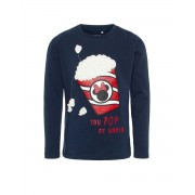 NAME IT Minnie Mouse Long Sleeved Blouse Navy