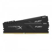 DDR4, KIT 8GB, 2x4GB, 2400MHz, KINGSTON HyperX Fury, CL15 (HX424C15FB3K2/8)
