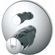 Baterie pentru cada si dus incastrata cu termostat Ideal Standard seria Ceratherm 100
