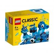 Caramizi creative albastre LEGO 11006