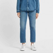 Carhartt w´page carrot ankle pant Blue Prime Stone