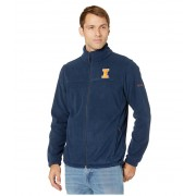 Columbia College Illinois Fighting Illini CLG Flankertrade III Fleece Jacket Collegiate Navy