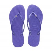 Havaianas Slim Cristal Tongs Violet Taille 3-4