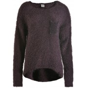 Deha Doamnelor pulover Crewneck pulover B64160 Black Plum S