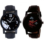 Do Your Best Multi Colour And Goal Achived Motivated Men's Analog Combo Casual Wrist Watch By Google Hub