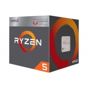 AMD Ryzen 5 2400G procesor, 4 jezgre (3.9GHz,6MB,65W,AM4), sa Wraith Stealth hladnjakom