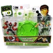 Ben 10 Mini PVS Four Arms & Young Ben 2.5 inch 2 pack Mini Figure