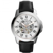 Fossil Grant Analog Silver Dial Mens Watch - ME3101