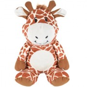 Ultra Cute Sitting Giraffe Soft Toy 9 Inches Brown