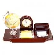 Glob, ceas si post it suport birou