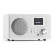 Auna IR-150 Retro Vintage Wooden Internet Radio FM DLNA W-LAN with Remote White