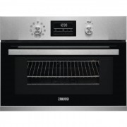Zanussi ZKK47901XK Built-in Compact Combination Microwave - Stainless Steel