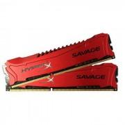 Kingston Memorija DDR3 16GB 1600MHz (2x8) XMP HyperX Savage, HX316C9SRK2/16