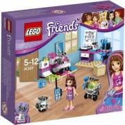 Конструктор Лего Френдс - Творческата лаборатория на Оливия - LEGO Friends, 41307