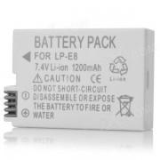 LP-E8 Compatible 7.4V 1200mAh bateria para Canon 550D