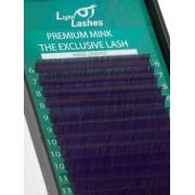 Eyelash extension Mink Exclusive purple CC-curl