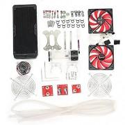 Generic 2Way Mini T CIRCLE Spirit Level Tool Trailer Caravan Motor Camper Van Table One Piece Pack of 5