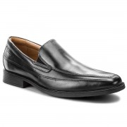 Clarks Półbuty CLARKS - Tilden Free 261103127 Black Leather