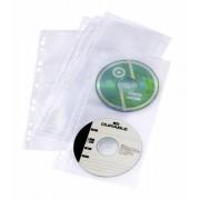 Durable 5282-19 Custodia a tasca 4dischi Trasparente custodia CD/DVD