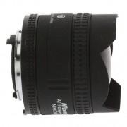 Nikon AF Fisheye-Nikkor 16mm 1:2.8D negro - Reacondicionado: muy bueno 30 meses de garantía Envío gratuito
