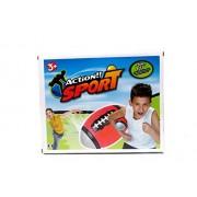 Set of 4 Sports Balls for Kids (Soccer Ball, Basketball, Football, Tennis Ball)