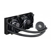 CPU cooler CoolerMaster MasterLiquid 240, Water, 2x fan 120mm, 24mj, (MLX-D24M-A20PW-R1)