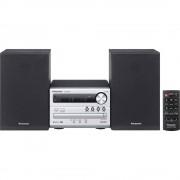 Stereo uređaj Panasonic SC-PM250EG-S Bluetooth®, CD, USB, 2 x 10 W srebrne bojee boje