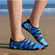 Summer Breathable Beach Sandals Outdoor Sport Anti-slip Shoes for Men - Blue / Size: 36