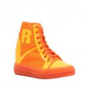 Rucoline Sneakers alte arancio e giallo
