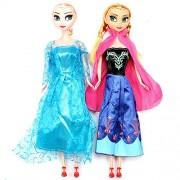 Frozen 29cm Princess Anna Elsa Dolls Snow Queen Children Girls Toys Birthday Christmas Gifts For Kids Cartoon Doll