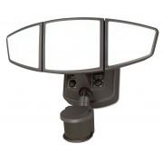 Dualux Omega 3L LED Sicherheitslicht mit Bewegungssensor in Bronze