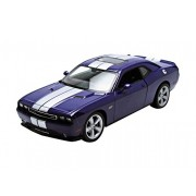 2013 Dodge SRT Challenger Purple 1/24 by Welly 24049