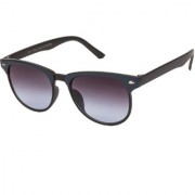 Arzonai Clubaster Wayfarer Black-Black UV Protection Sunglasses For Men & Women [MA-319-S1 ]