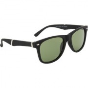 Ochila Green UV Protection Wayfarer Unisex Sunglasses