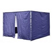Sada 2 bočných stien pre PROFI záhradný stan 3 x 3 m modrá