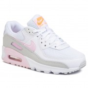 Обувки NIKE - Nike Air Max 90 CZ0371 100 White/Pink Foam/Total Orange