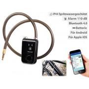 App-gesteuertes Kabelschloss, Bluetooth, Alarm für Fahrrad, Tür u.v.m. | Fahrradschloss