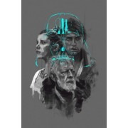 Star Wars Gwiezdne Wojny II Generacja - plakat premium